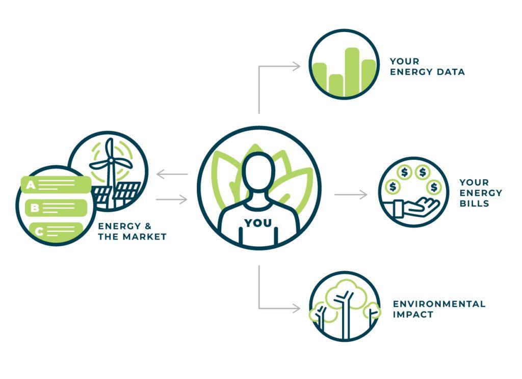 Los consumidores, son el centro del mercado energético | Educación energética | EnerWisely