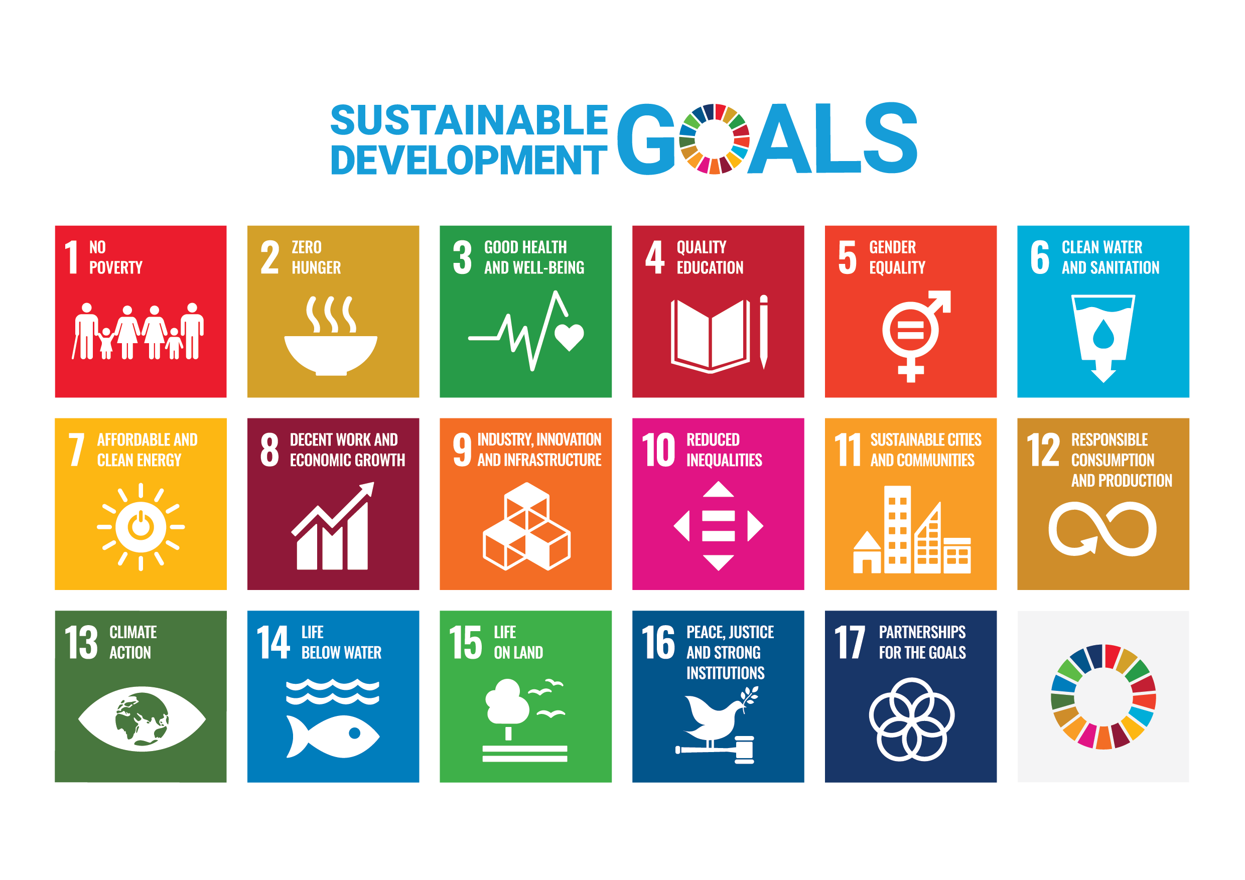 Picture EnerWisely Support's United Nations 17 Sustainable Development Goals SDG's